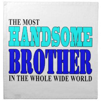 Fiestas de cumpleaños de los hermanos: Brother her Servilletas Imprimidas