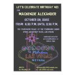 Fiestas de cumpleaños del casino de Las Vegas Anuncios Personalizados