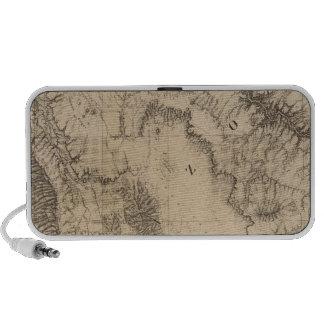 Fiestas del mapa, del río y de la tierra iPod altavoz