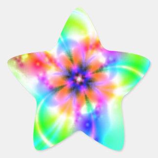 Fiestas Pegatina En Forma De Estrella