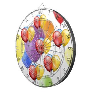 Fiestas y globos tablero dardos