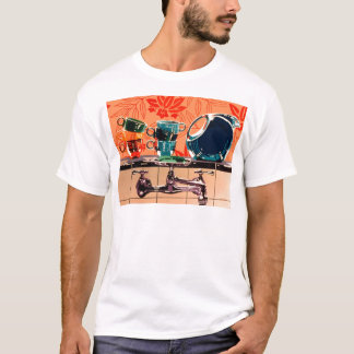 Fiestaware and the Kitchen Sink T-Shirt
