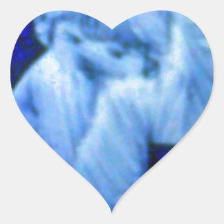 Fiesty Kid Heart Sticker