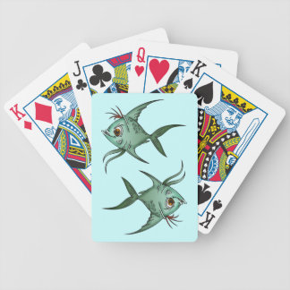 Fiesty Little Fish Playing Cards