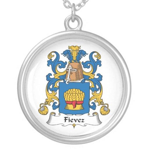 Fievez Family Crest Custom Necklace