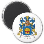 Fievez Family Crest Magnets