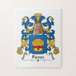 Fievez Family Crest Puzzle