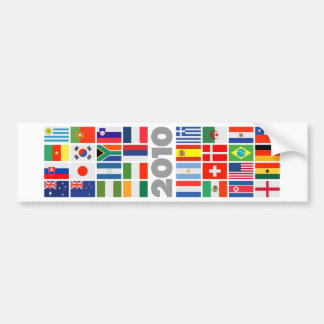 FIFA World Cup 2010 Bumper Sticker