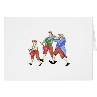 FIFE AND DRUM BAND CARDS