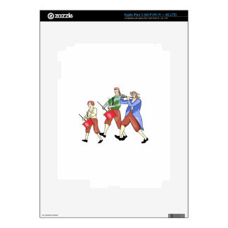 FIFE AND DRUM BAND iPad 3 DECAL