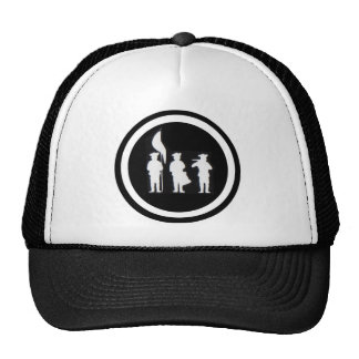 Fife and Drum Corps Silhouette Apparel Trucker Hat
