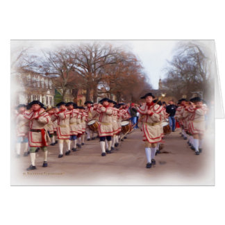 Fife and Drums Card