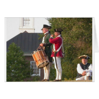 Fife & Drum over the Fort Greeting Cards