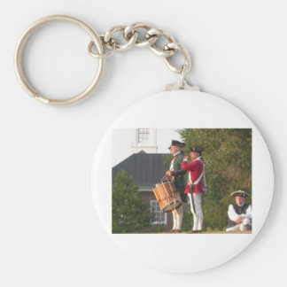 Fife & Drum over the Fort Keychain