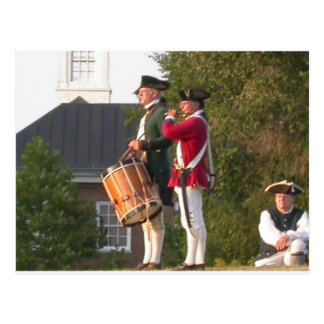 Fife & Drum over the Fort Postcard