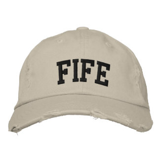 Fife Embroidered Hat
