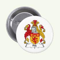 Fife Family Crest Button