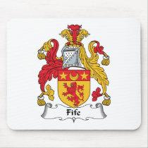 Fife Family Crest Mousepad