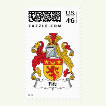 Fife Family Crest Stamps