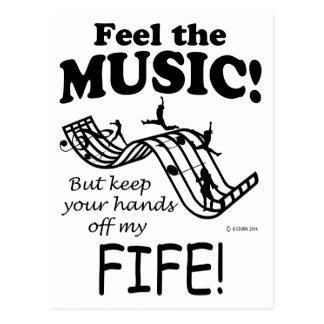 Fife Feel The Music Postcard