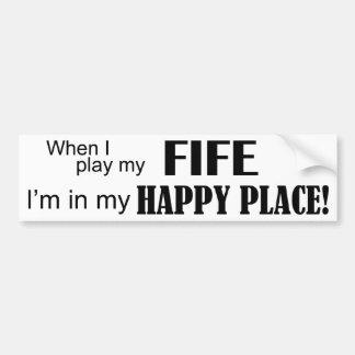 Fife Happy Place Bumper Sticker