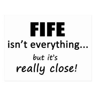 Fife Isn't Everything Postcard