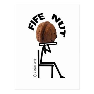Fife Nut Postcard