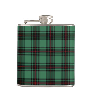 Fife Scotland Tartan Hip Flask