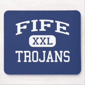 Fife - Trojans - High School - Tacoma Washington Mouse Mats