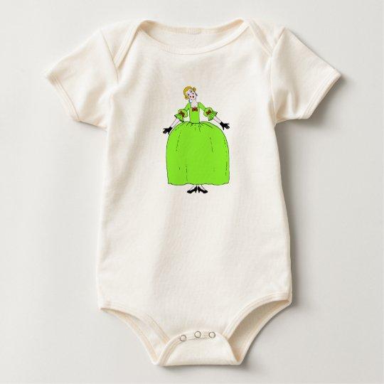 Fifi - 100% ORGANIC Baby Bodysuit