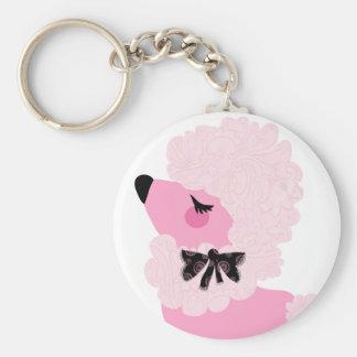 Fifi Pink Poodle Keychan Keychain