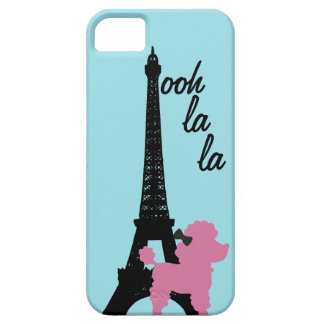 ¡Fifi! turquesa de Barely There del iPhone 5 iPhone 5 Protectores