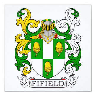 Fifield Coat of Arms I Card
