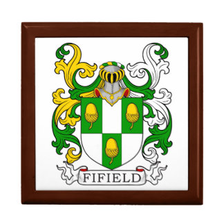 Fifield Coat of Arms I Jewelry Boxes