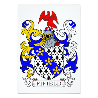 Fifield Coat of Arms II Card