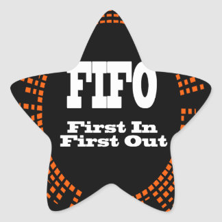 FIFO STAR STICKER