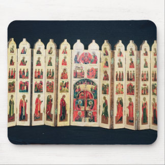 Fifteen-section icon screen with Life of Christ Mouse Pad