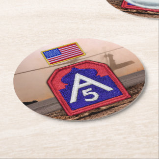 Fifth 5th army sam houston veterans vets coasters
