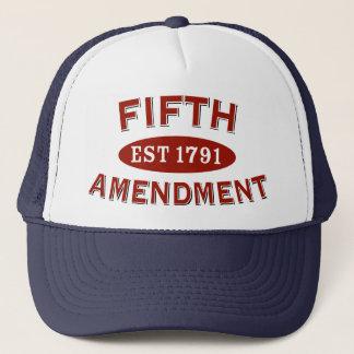 Fifth Amendment Est 1791 Trucker Hat