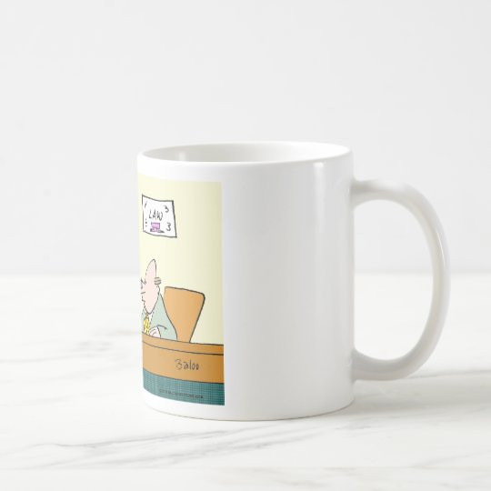 fifth amendment report cards coffee mug