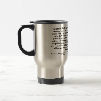 Fifth Amendment to the United States Constitution Mugs