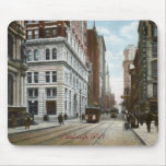 Fifth Ave. and Wood Street Mousepad