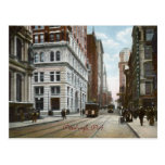 Fifth Ave. and Wood Street Vintage Postcard
