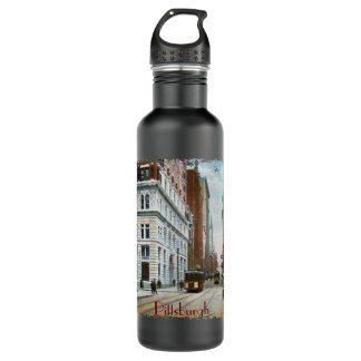 Fifth Ave and Wood Street Water Bottle