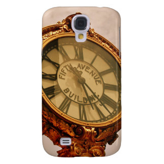 Fifth Ave. Building Clock Galaxy S4 Cases