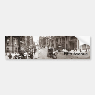 Fifth Avenue1902, Bumper Sticker