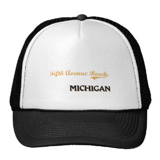 Fifth Avenue Beach Michigan Classic Hats