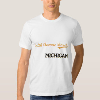 Fifth Avenue Beach Michigan Classic Shirt