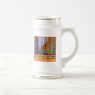 Fifth Avenue Beer Stein