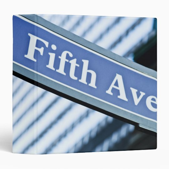 Fifth Avenue Binder